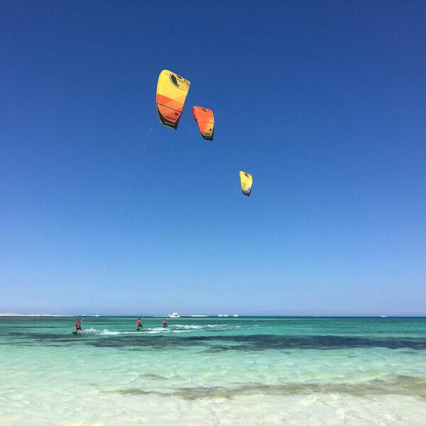 Кайтсерфинг в Египте Kite Trips